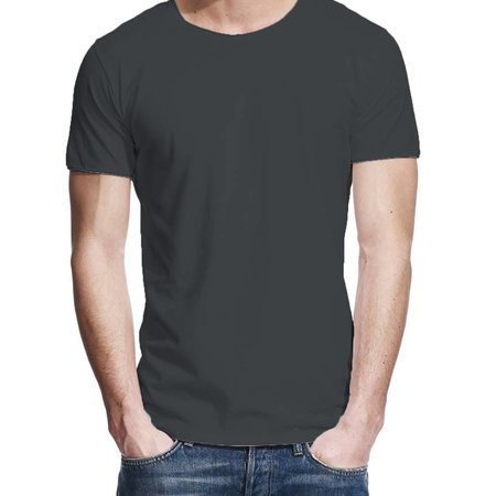 T-shirt charcoal
