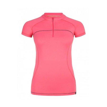 Dames sport shirt, korte mouw.