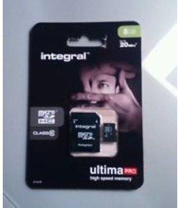 Integral Integral micro sd kaart 8GB