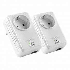 Eminent Eminent Powerline Adapter 500Mbps met geïntegreerd stopcontact (Starter Kit)