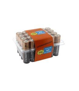 Duracell Duracell Alkaline AA batterijen 24 stuks