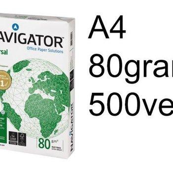 Navigator KOPIEERPAPIER NAVIGATOR UNIVERSAL A4 80GR WIT