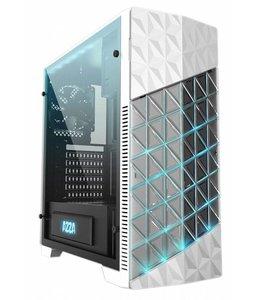 Azza Case  Onyx Game MidiTower / Glas / EVA light /USB3 / Wit