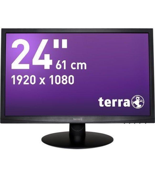 Terra TERRA LED 2412W Black DVI GREENLINE PLUS