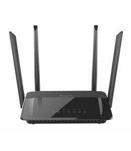 D-LINK D-Link AC1200 Dual Band Dual-band (2.4 GHz / 5 GHz) Gigabit Ethernet Zwart draadloze router