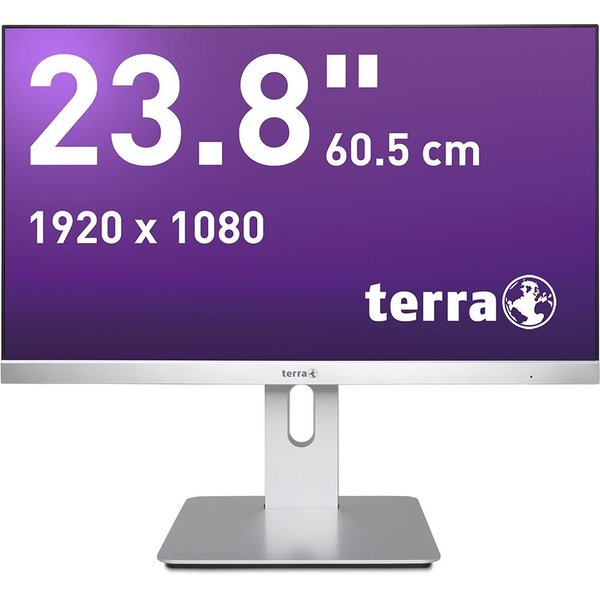 Terra LED 2462W PV Zilver DP/HDMI GREENLINE PLUS / 23,8""