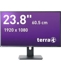 "Terra LED 2456W PIVOT Black DP,HDMI GREENLINE PLUS / 23,8"""