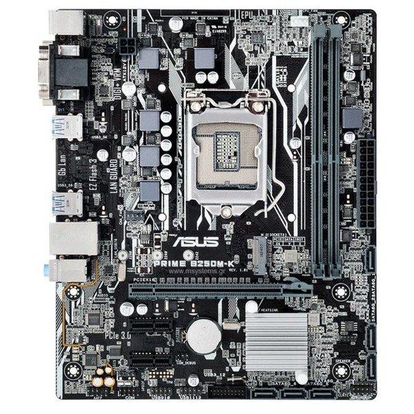 Asus MB  Prime B250M-K 1151 / DVI / USB3 / mATX