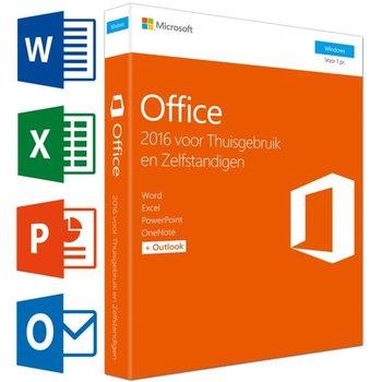 Microsoft Office 2016 Thuisgebruik en Zelfstandigen NL