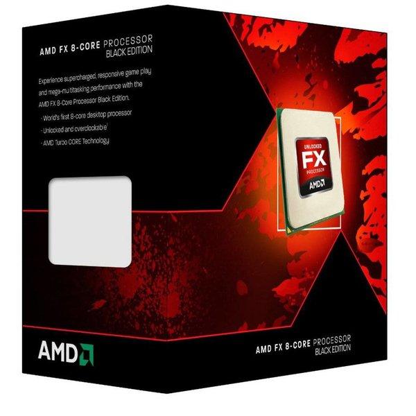 AMD CPU ® FX-8320 Black Edition  X8 / AM3+ / 3.5GHZ / 8MB