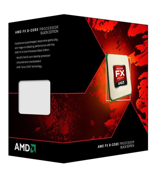 AMD CPU ® FX-8320 Black Edition  X8 / AM3+ / 3.5GHZ / 8MB