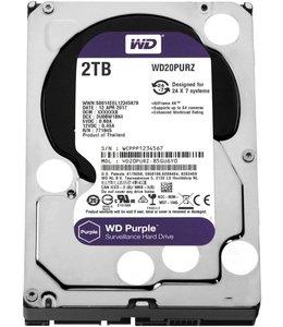 Western Digital Purple 2000GB SATA III interne harde schijf