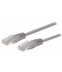 OEM Valueline VLCT85000E100 10m Cat5e U/UTP (UTP) Grijs netwerkkabel
