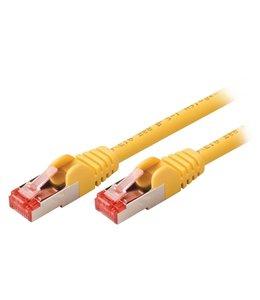 OEM Valueline VLCP85221Y10 1m Cat6 S/FTP (S-STP) Geel netwerkkabel