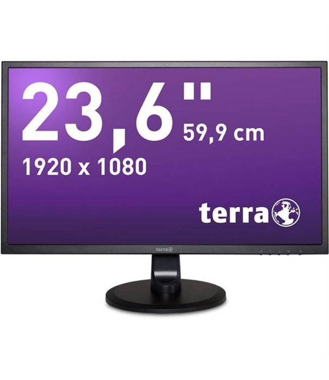 "Terra LCD/LED 2447W 23.6"" MVA black / 23,6"""