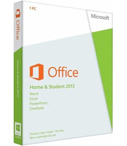 Microsoft MS Office 2013 Thuisgebruik en Studenten 1 User NL