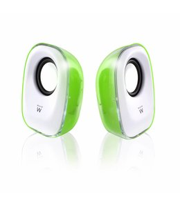 Ewent EW3514 5W Groen, Wit luidspreker