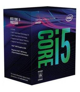 Intel Core ® ™ i5-8600K Processor (9M Cache, up to 4.30 GHz) 3.6GHz 9MB Smart Cache Box processor