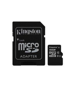 Kingston Technology Canvas Select 16GB MicroSD UHS-I Klasse 10 flashgeheugen