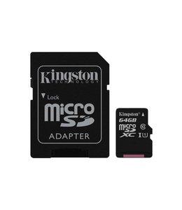 Kingston Technology Canvas Select 64GB MicroSD UHS-I Klasse 10 flashgeheugen