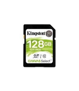 Kingston Technology Canvas Select 128GB SDXC UHS-I Klasse 10 flashgeheugen