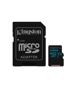 Kingston Technology Canvas Go! 128GB MicroSDXC UHS-I Klasse 10 flashgeheugen