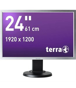 "Terra LED 2458W PV zwart DP GREENLINE PLUS / 24"""