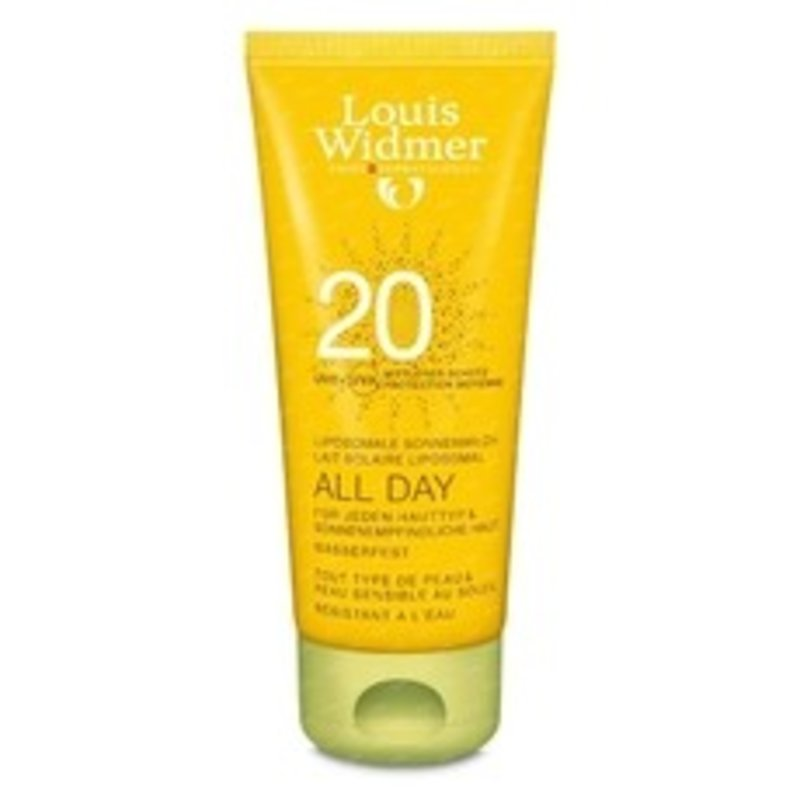 Louis Widmer All Day SPF 20+ licht geparfumeerd