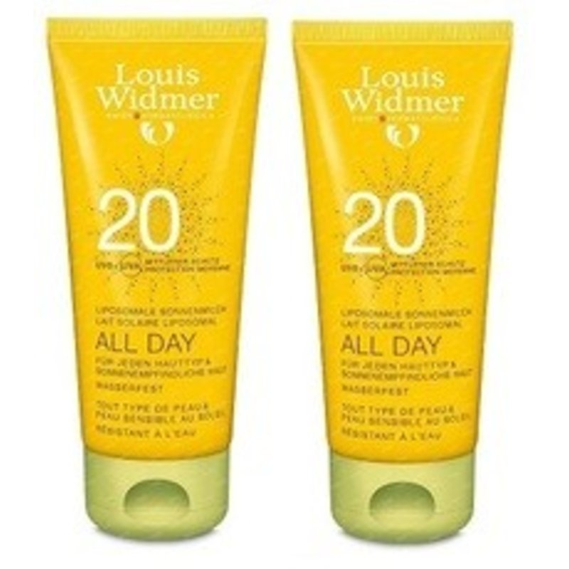 Louis Widmer All Day SPF 20+ DUO Geparfumeerd