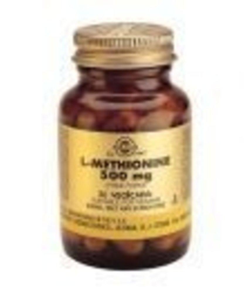 Solgar Solgar L-Methionine 500 mg plantaardige capsules