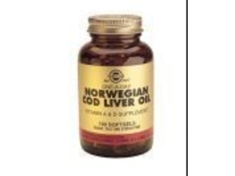 Solgar Solgar Cod Liver Oil Levertraan softgels