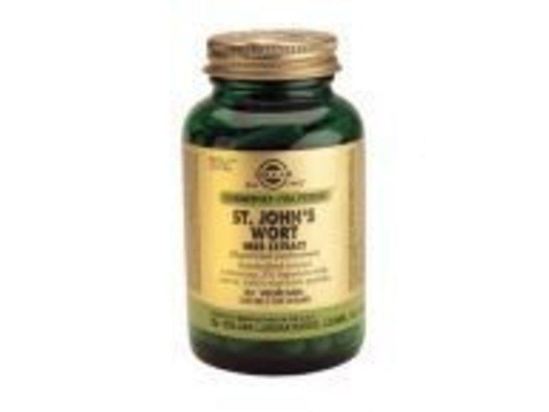 Solgar Solgar St. John's Wort Herb Extract Sint Janskruid plantaardige capsules