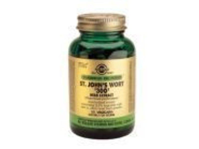 Solgar Solgar St. John's Wort Herb '300' Extract Sint Janskruid plantaardige capsules