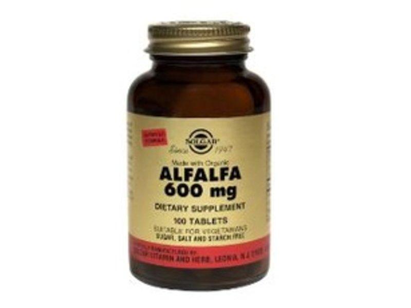 Solgar Solgar Alfalfa 600 mg tabletten