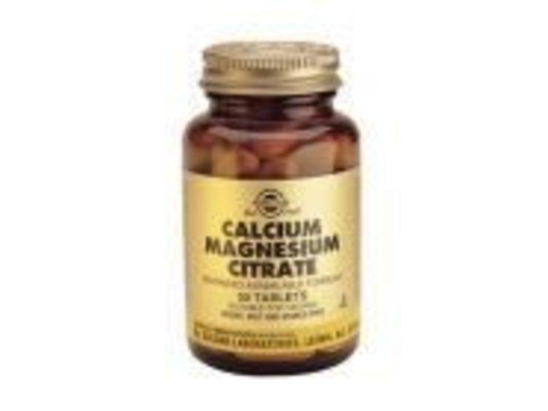 Solgar Solgar Calcium Magnesium Citrate tabletten
