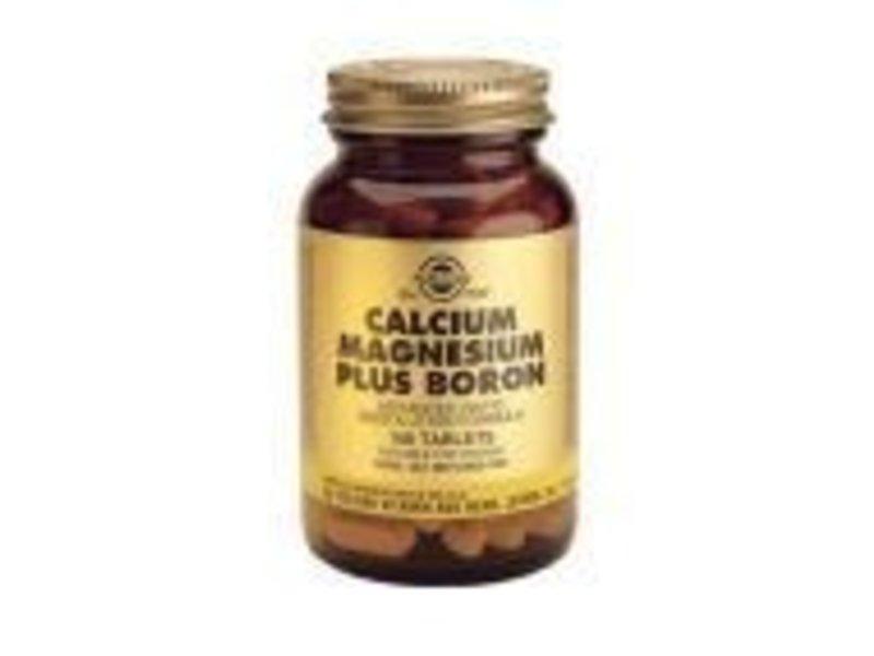 Solgar Solgar Calcium Magnesium Boron tabletten