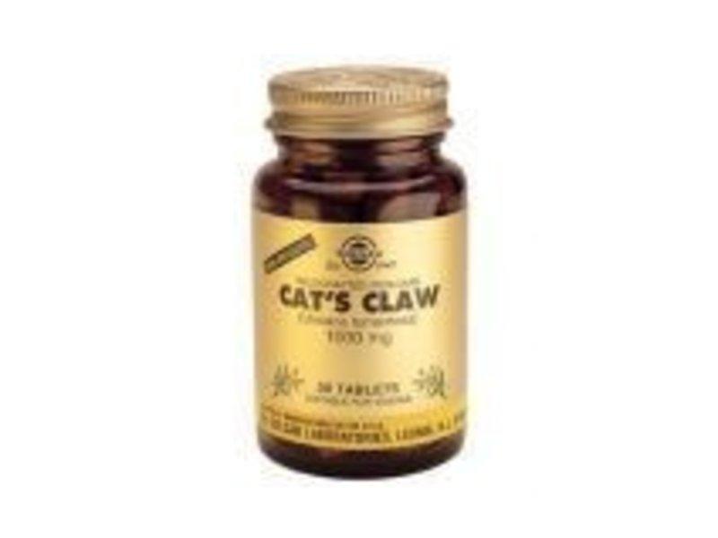 Solgar Solgar Cat's Claw 1000 mg Katteklauw tabletten