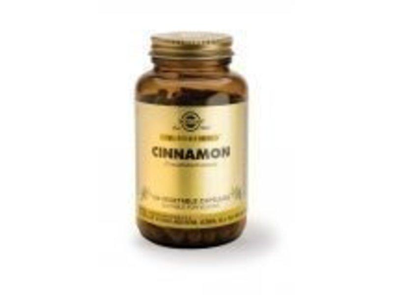 Solgar Solgar Cinnamon Kaneel plantaardige capsules