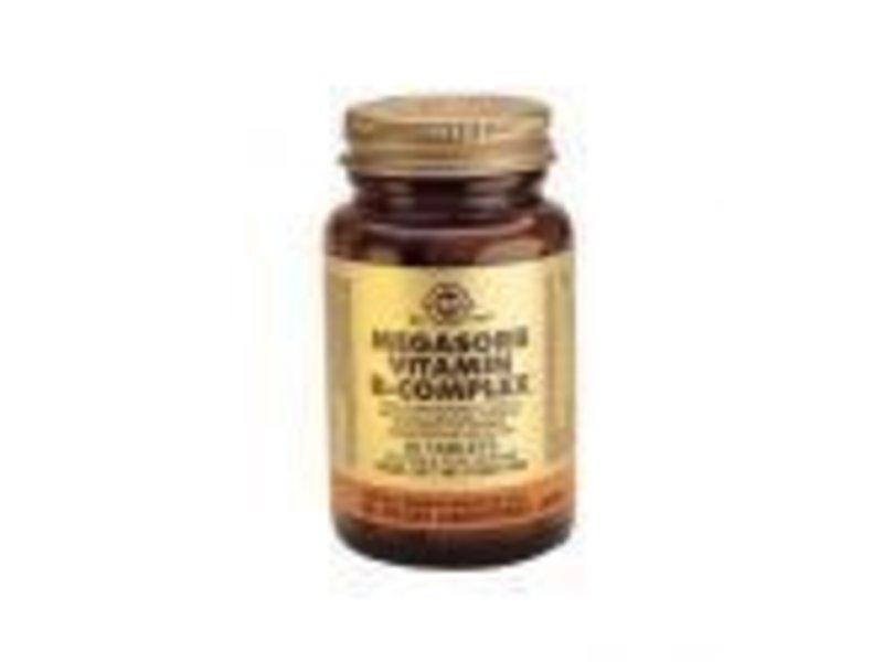 Solgar Solgar Megasorb Vitamin B-complex tabletten