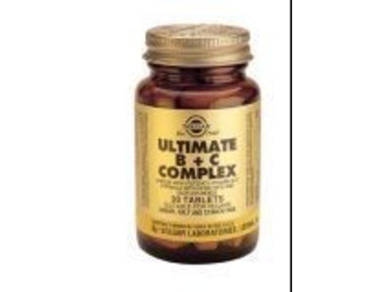 Solgar Solgar Ultimate B + C Complex tabletten