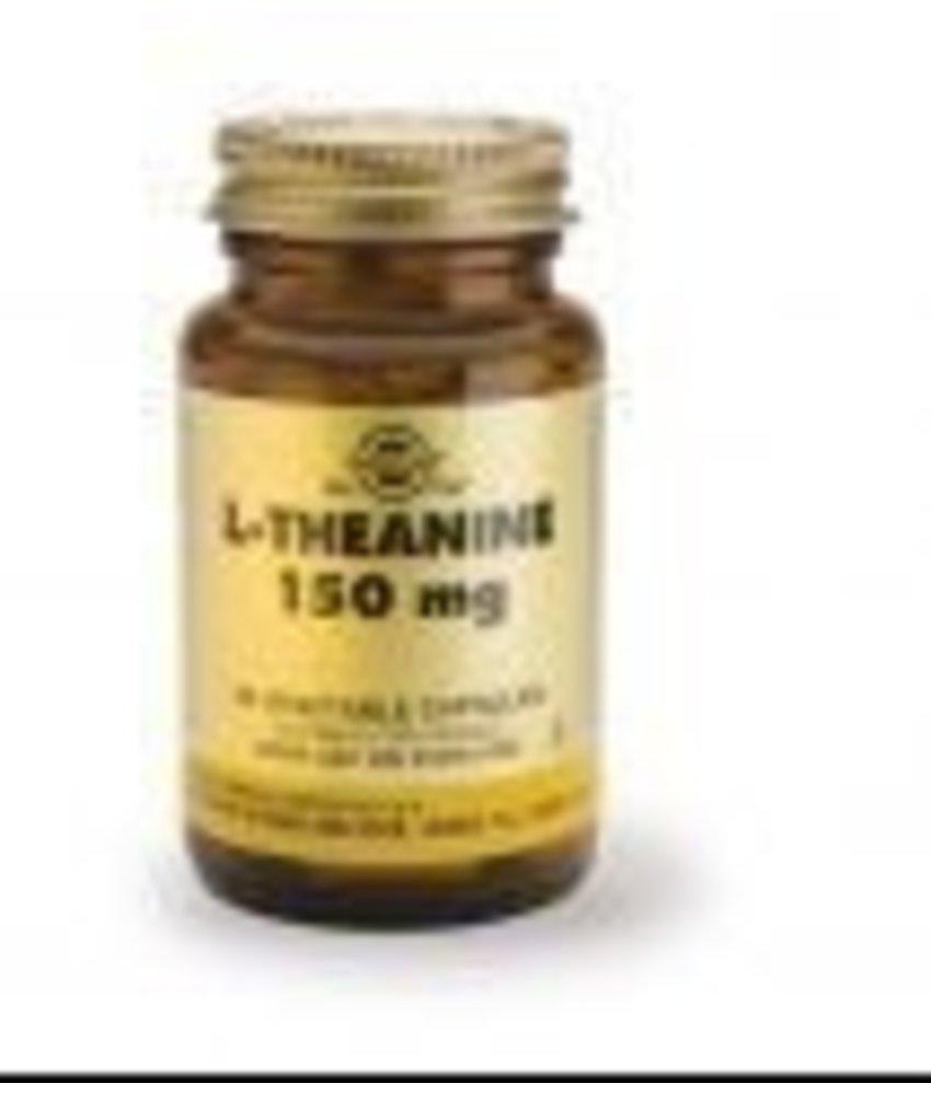 Solgar Solgar L-Theanine 150 mg plantaardige capsules