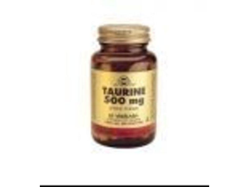 Solgar Solgar Taurine 500 mg plantaardige capsules