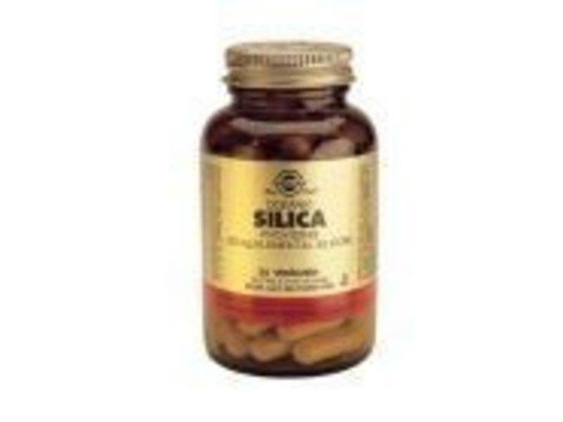 Solgar Solgar Oceanic Silica Kiezelzuur plantaardige capsules