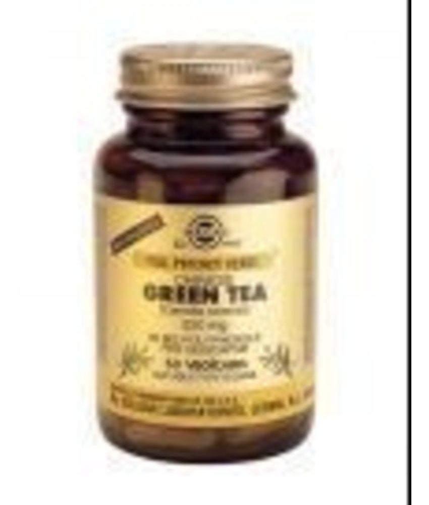 Solgar Solgar Green Tea plantaardige capsules