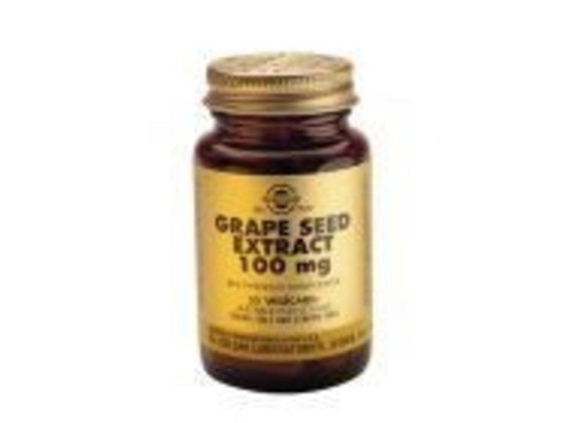 Solgar Solgar Grape Seed Extract 100 mg Druivenpit plantaardige capsules