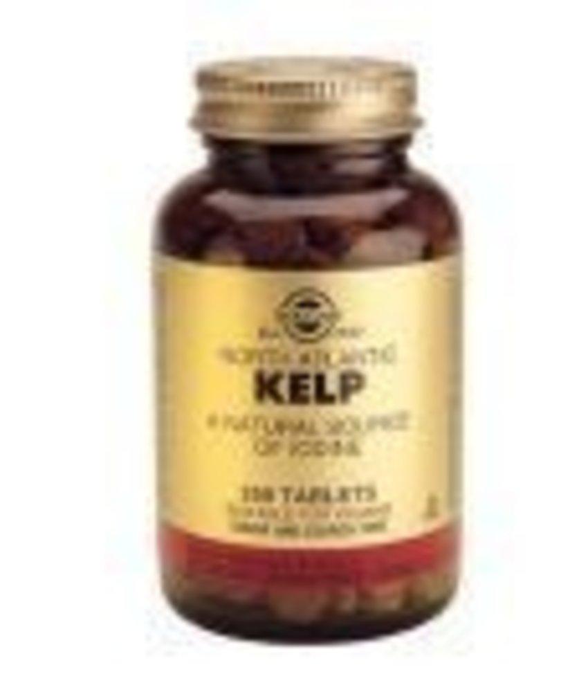 Solgar Solgar Kelp Jodium tabletten