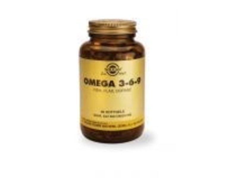 Solgar Solgar Omega 3-6-9 softgels