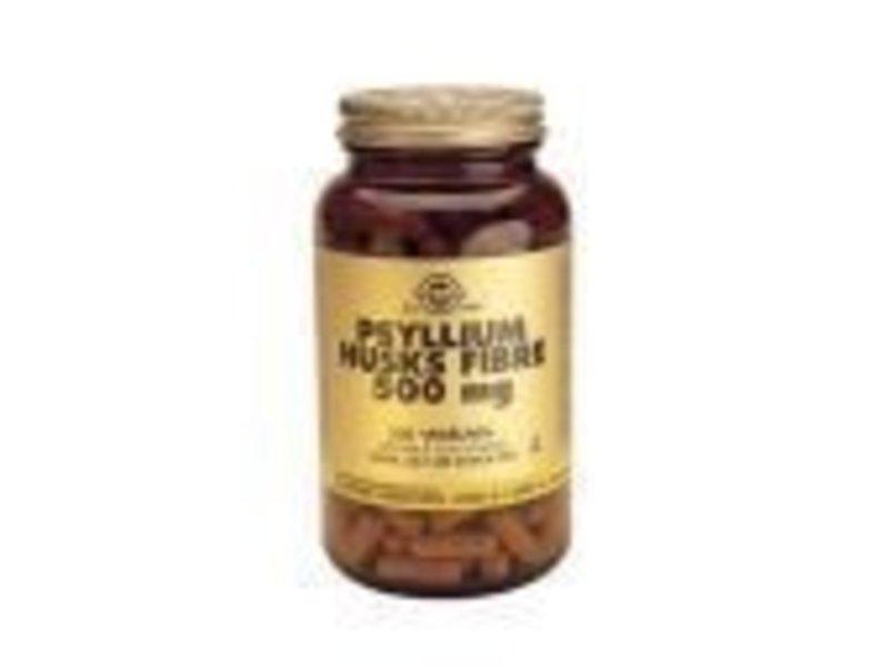 Solgar Solgar Psyllium Husks 500 mg Vlozaad plantaardige capsules