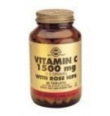 Solgar Solgar Vitamin C with Rose Hips 1500 mg tabletten
