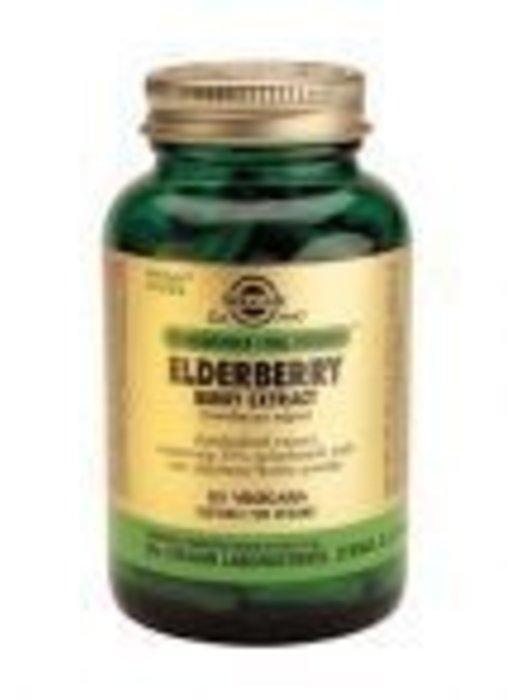 Solgar Solgar Elderberry Berry Extract Vlierbes plantaardige capsules